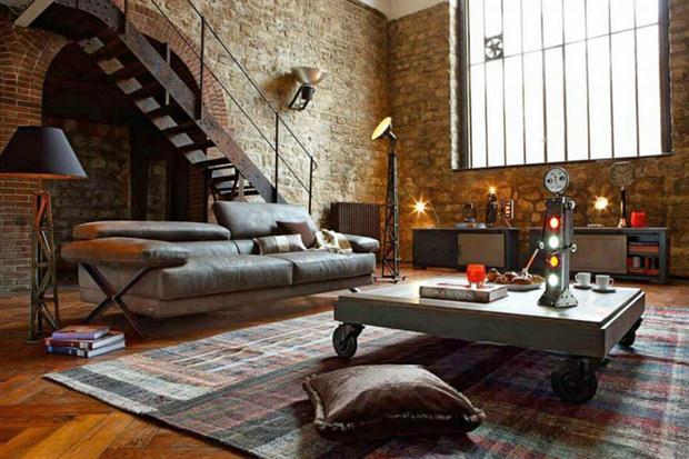 Un estilo industrial para su casa o departamento hogares for Decoracion de su nueva casa